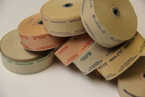 A selection of Setright ticket rolls.