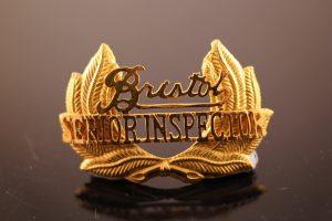 Bristol Omnibus Senior Inspectors badge.