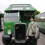 Bristol Omnibus summer conductor uniform.